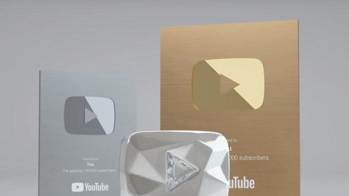 5 Jenis Play Button YouTube